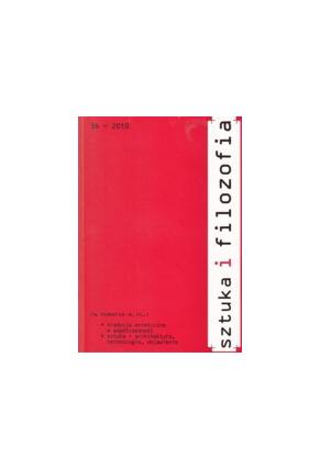 2010 SZTUKA I FILOZOFIA, t. 36