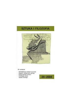 2004 SZTUKA I FILOZOFIA t. 24