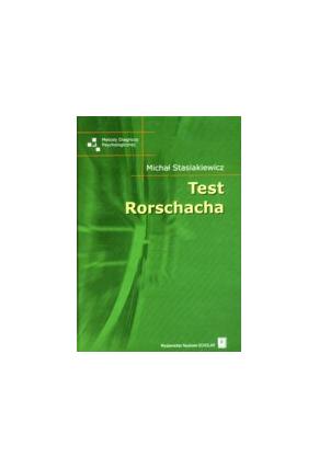 TEST RORSCHACHA<br>seria: Metody Diagnozy Psychologicznej