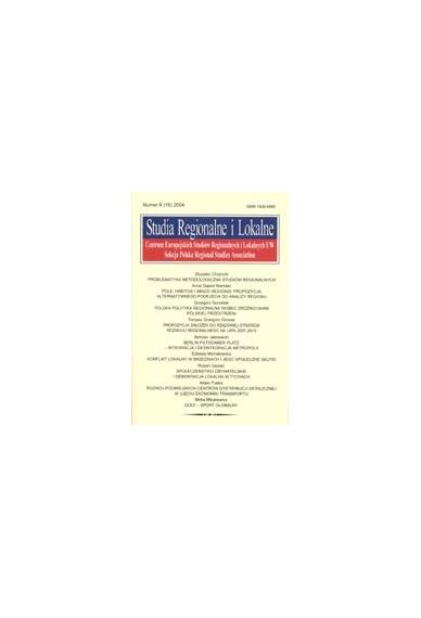 2004 STUDIA REGIONALNE I LOKALNE nr 4(18)