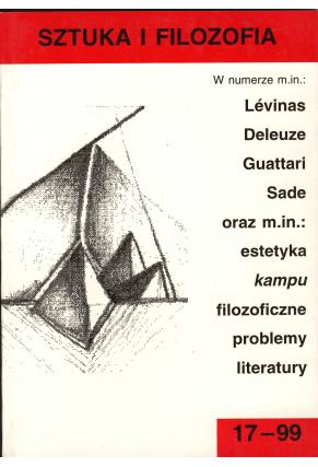 1999 SZTUKA I FILOZOFIA nr 17
