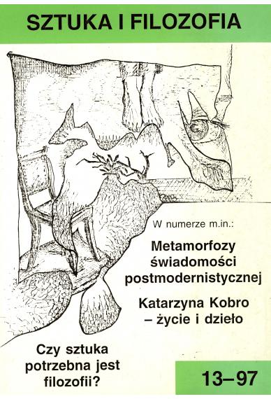 1997 SZTUKA I FILOZOFIA nr 13