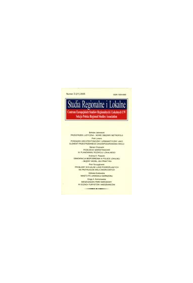 2005 STUDIA REGIONALNE I LOKALNE nr 3(21)