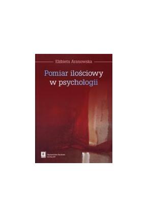 POMIAR ILOŚCIOWY <br>W PSYCHOLOGII<br>Od klasycznej teorii testów <br>do podstaw teorii testów <br>dla pojęć rozmytych
