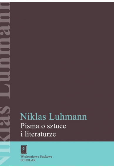 PISMA O SZTUCE I LITERATURZE