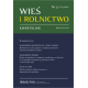 2016 WIEŚ I ROLNICTWO <br>t. 171, nr 2