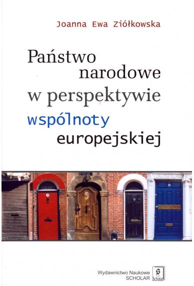 PAŃSTWO NARODOWE <br>W PERSPEKTYWIE WSPÓLNOTY EUROPEJSKIEJ