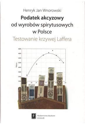 PODATEK AKCYZOWY <br>OD WYROBÓW SPIRYTUSOWYCH <br>w Polsce <br>Testowanie krzywej Laffera