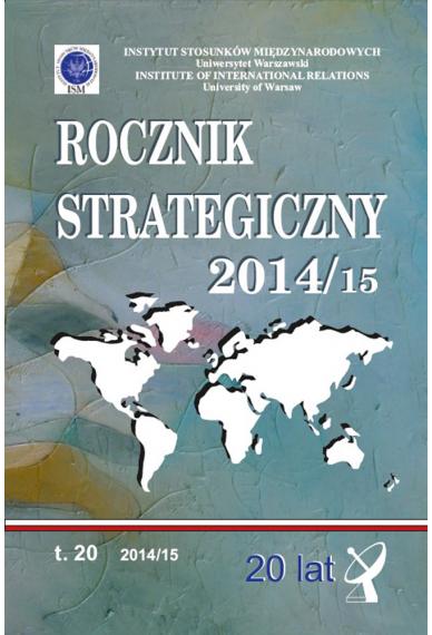 2014/15 ROCZNIK STRATEGICZNY <br>tom 20