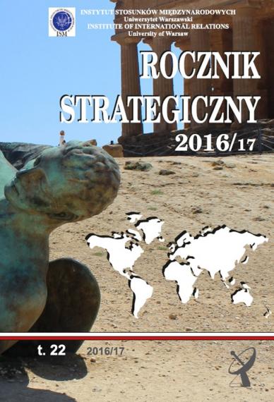 2016/17 ROCZNIK STRATEGICZNY <br>t. 22