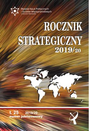 2019/2020 ROCZNIK STRATEGICZNY <br>t. 25