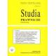 2007 STUDIA PRAWNICZE nr 1 <br>UWAGA!!! Do kupienia WYŁĄCZNIE w PDFie